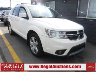 Used 2012 Dodge Journey SXT 4D Utility 2WD 3.6L for sale in Calgary, AB