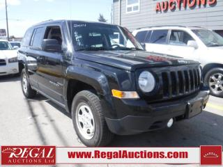 Used 2014 Jeep Patriot 4D Utility 4WD for sale in Calgary, AB