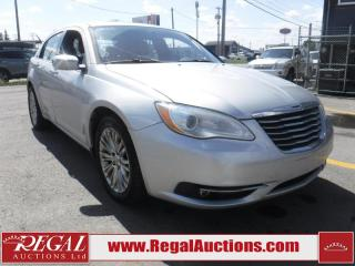 Used 2012 Chrysler 200 Limited 4D Sedan for sale in Calgary, AB
