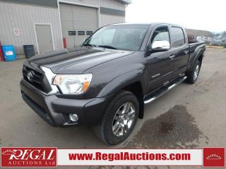 Used 2015 Toyota TACOMA LIMITED CREW CAB 4X4 for sale in Calgary, AB