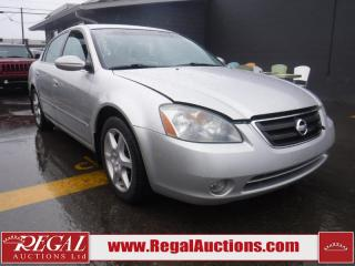 Used 2002 Nissan Altima 4D Sedan for sale in Calgary, AB