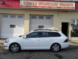Used 2011 Volkswagen Golf Wagon HIGHLINE for sale in Edmonton, AB
