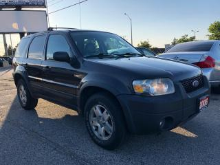 Used 2006 Ford Escape XLT 4WD, ACCIDENT FREE, LEATHER, WARRANTY, CERTIFI for sale in Woodbridge, ON