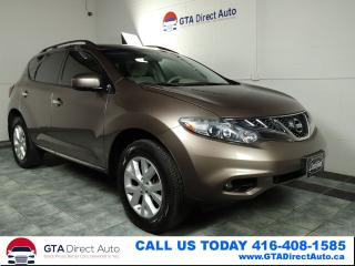 Used 2012 Nissan Murano AWD KeylessGo Alloys AUX Certified for sale in Toronto, ON