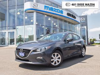 Used 2015 Mazda MAZDA3 Sport GX|ONE OWNER|NO ACCIDENTS|1.99% FINANACE AVAILABLE for sale in Mississauga, ON
