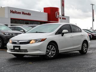 Used 2012 Honda Civic LX|NO ACCIDENTS for sale in Burlington, ON