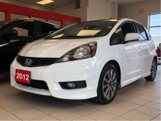 Used 2012 Honda Fit Sport, one onwer, clean carproof report, manual for sale in Toronto, ON