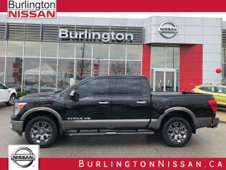 Used 2018 Nissan Titan Platinum, ACCIDENT FREE for sale in Burlington, ON