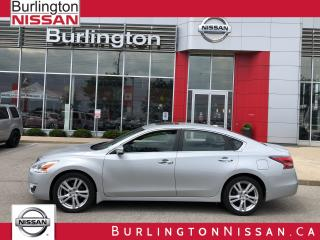 Used 2014 Nissan Altima 3.5 SL, NAVIGATION, ACCIDENT FREE ! for sale in Burlington, ON