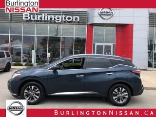 Used 2015 Nissan Murano SL, ACCIDENT FREE ! for sale in Burlington, ON
