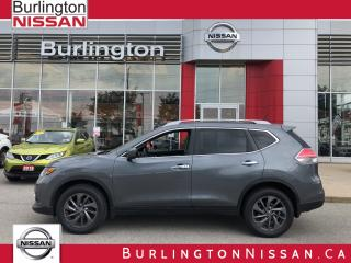 Used 2016 Nissan Rogue SL for sale in Burlington, ON