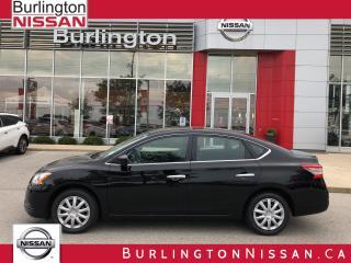 Used 2014 Nissan Sentra SV, 1 OWNER, COMPLETE SERVICE HISTORY ! for sale in Burlington, ON