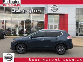 Used 2016 Nissan Rogue SL, ACCIDENT FREE, 1 OWNER ! for sale in Burlington, ON