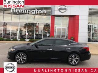 Used 2017 Nissan Maxima Platinum, 1 OWNER ! for sale in Burlington, ON