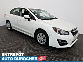 Used 2015 Subaru Impreza AWD Automatique - AIR CLIMATISÉ -Groupe Électrique for sale in Laval, QC
