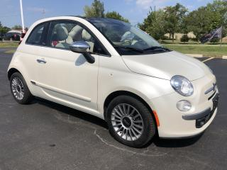 Used 2015 Fiat 500 C 2015 Fiat 500C - 2dr Conv Lounge for sale in St. George Brant, ON