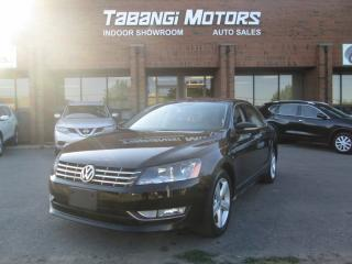Used 2013 Volkswagen Passat TDI | NO ACCIDENTS | NAVIGATION | LEATHER | SUNROOF | BT for sale in Mississauga, ON