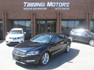 Used 2013 Volkswagen Passat TDI | NO ACCIDENTS | HIGHLINE | NAVIGATION | SPORT | BT for sale in Mississauga, ON