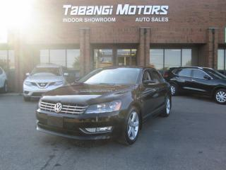 Used 2014 Volkswagen Passat TDI | NO ACCIDENTS | LEATHER | SUNROOF | HEATED SEATS |  BT for sale in Mississauga, ON