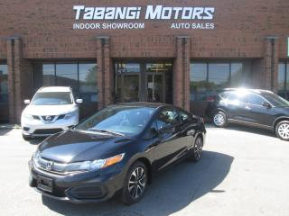 Used 2015 Honda Civic COUPE EX | SUNROOF | BIG SCREEN | REAR CAM | SMART KEY | HTD SEATS for sale in Mississauga, ON