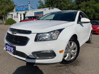 Used 2015 Chevrolet Cruze 4dr Sdn 1LT * ONE OWNER & ACCIDENT FREE **$116 BI WEEKLY 0 D for sale in Brampton, ON