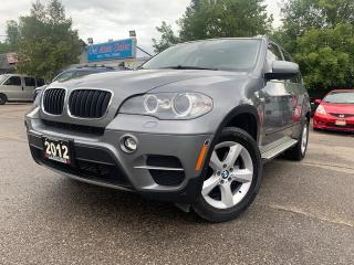 Used 2012 BMW X5 AWD 4dr 35i *ACCIDENT FREE, LOW KILOMETRES** for sale in Brampton, ON