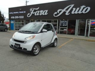Used 2012 Smart fortwo BLUE TOOTH  & LEATHER SEATS for sale in Scarborough, ON