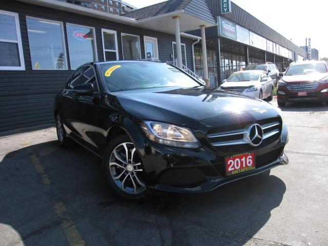 2016 Mercedes-Benz C-Class C300 4MATIC Sedan, FULLY LOADED!!  NAVIGATION, BACK UP CAMERA, HEATED SEATS, LEATHER
