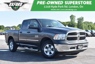 Used 2014 RAM 1500 ST - One Owner, Brake Controller, Bedliner for sale in London, ON
