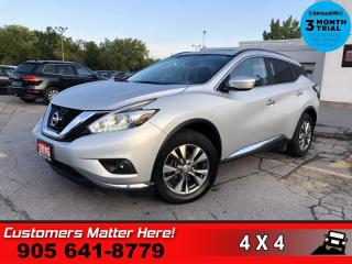 Used 2015 Nissan Murano SV  NAV PANO-ROOF CAM P/GATE HS P/SEAT for sale in St. Catharines, ON