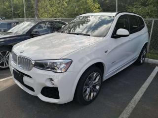 Used 2017 BMW X3 xDrive35i 6 CYL, NAV, PANO ROOF for sale in Ottawa, ON