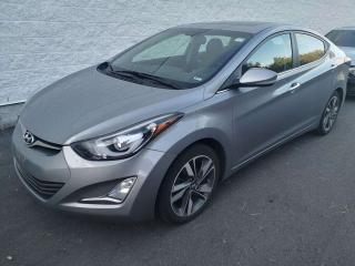 Used 2014 Hyundai Elantra Limited at NAV, SUNROOF, LEATHER for sale in Ottawa, ON