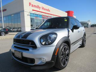 Used 2015 MINI Cooper Countryman Cooper S, Gorgeous Red leather! for sale in Brampton, ON