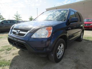 Used 2003 Honda CR-V EX-L, SUNROOF, HEATED SEATS for sale in Brampton, ON