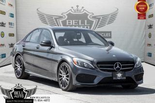 Used 2016 Mercedes-Benz C-Class C 300, 4MATIC, NO ACCIDENT, NAVI, BACK-UP CAM, SUNROOF, BLIND SPOT for sale in Toronto, ON