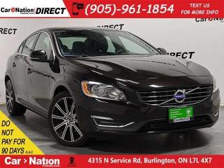 Used 2015 Volvo S60 T6 Premier Plus| AWD| SUNROOF| LEATHER| for sale in Burlington, ON