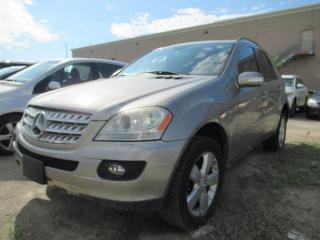 Used 2007 Mercedes-Benz ML-Class ML500, REAR ENTERTAINMENT SYSTEM, NAVIGATION for sale in Brampton, ON