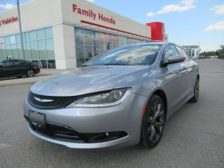 Used 2015 Chrysler 200 S, NAVIGATION, REVERSE CAM for sale in Brampton, ON