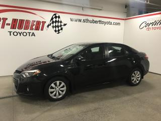 Used 2014 Toyota Corolla 2014 Toyota Corolla - S, CAMÉRA DE RECUL for sale in St-Hubert, QC
