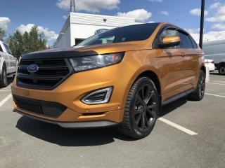 Used 2015 Ford Edge SPORT, AWD, CUIR, TOIT PANO, GPS for sale in Vallée-Jonction, QC