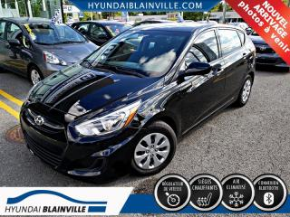 Used 2016 Hyundai Accent A/C , BLUETOOTH , BANCS CHAUFF for sale in Blainville, QC