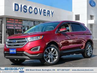 Used 2015 Ford Edge Titanium for sale in Burlington, ON