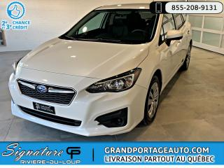 Used 2017 Subaru Impreza Commodité Hatchback Auto *Clean for sale in Rivière-Du-Loup, QC