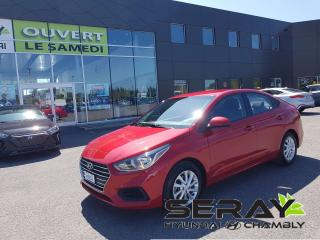 Used 2018 Hyundai Accent 2018 Hyundai Accent - 4 Door GL Auto for sale in Chambly, QC