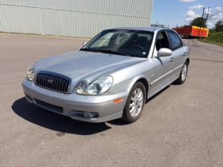 Used 2003 Hyundai Sonata Berline 4 portes GL, moteur V6, boîte au for sale in Quebec, QC