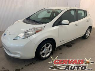 Used 2015 Nissan Leaf SV Quick Charge Caméra GPS Bluetooth MAGS for sale in Shawinigan, QC