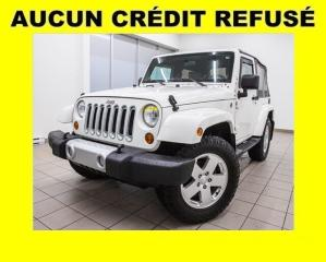 Used 2010 Jeep Wrangler SAHARA 4X4 *AUTOMATIQUE* ALPINE *GR. REMORQ* PROMO for sale in St-Jérôme, QC