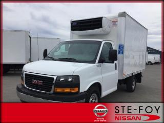 Used 2018 GMC Savana 3500 CUBE 12 PIEDS RÉFRIGÉRÉ for sale in Beauport, QC