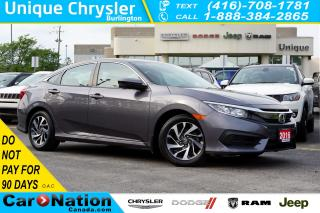 Used 2016 Honda Civic EX| REAR CAM| SUNROOF| HEATED SEATS & MORE for sale in Burlington, ON