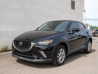 Used 2018 Mazda CX-3 GS AWD CAMÉRA RECUL *SIÈGES / VOLANT CHAUFFANT* for sale in St-Jérôme, QC
